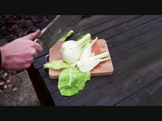 Реставрация старинного кухонного топорика
