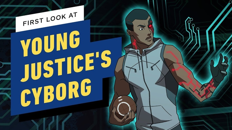 Young Justice: Outsiders Introduces Cyborg - Exclusive First Look