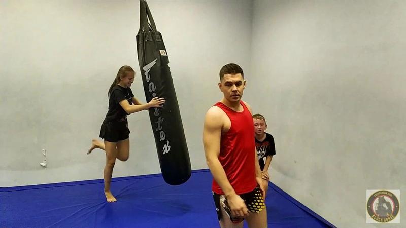 Парная персоналка Тренировка на выносливость Длинные раунды Тайский бокс Кардио Скорость