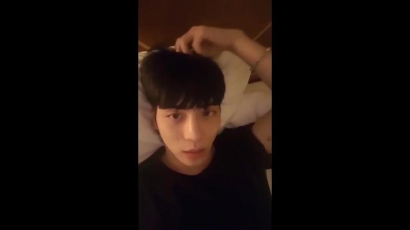 170922 샤이니 종현 인스타 라이브 SHINee jonghyun instagram live (앞부분 좀 짤렸어요ㅠㅠ)
