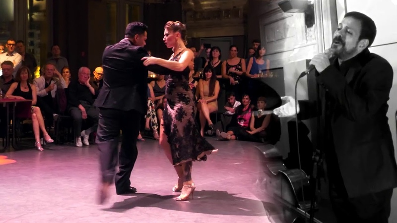 Sebastian Arce and Mariana Montes with Guillermo Fernández Antwerpen Tango Fesitval 2018