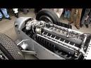 Definitive Auto Union V16 C Type engine warm up Goodwood Revival 2012 Silver Arrows