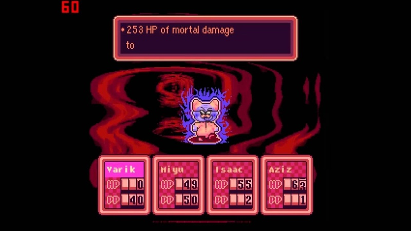 Earthbound Halloween Hack - Final Boss Dr. Andonuts Ending
