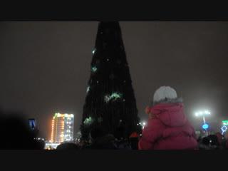 Как зажигали главную елку Витебска (Новый год 2019)