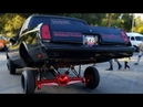 LOWRIDER HOPPING @ CARSHOW CATCHES ON FIRE