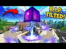 CUBE *DESTROYS* BUILDING IN TILTED TOWERS! - Fortnite Funny Fails and WTF Moments! 326