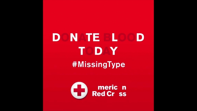 Notice something missing A few letters may not seem like a big deal, but for patients who need A, B O blood types – these let