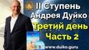 2 ступень 3 день 2 часть Андрея Дуйко Школа Кайлас 2015 Смотреть бесплатно