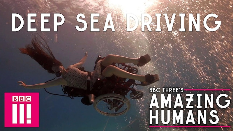 The Woman Who Went Diving In Her Wheelchair