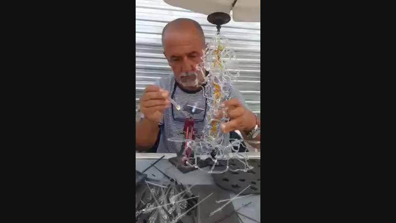 Nasuf Cömert - BODRUMDA cam sanatını dünyaya tanıtmaya...