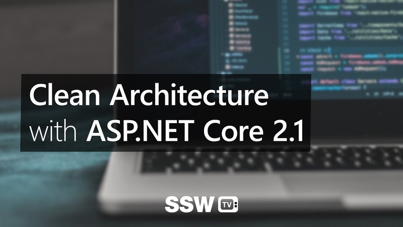 Clean Architecture with ASP.NET Core 2.1