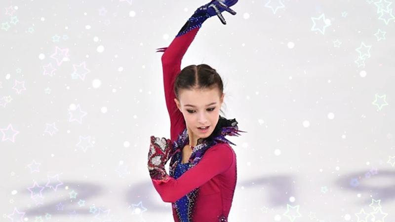 АННА ЩЕРБАКОВА ·٠• ПРОИЗВОЛЬНАЯ ПРОГРАММА (Winter European Youth Olympic Festival 2019)