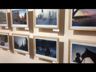 Открытие выставки фотоклуба г. Соткамо (Финляндия)