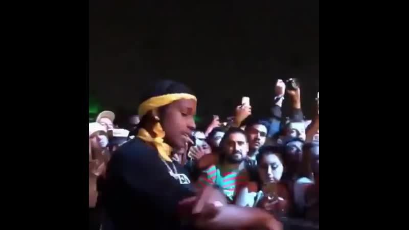 A$AP Rocky на Camp Flog Gnaw