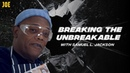 Samuel L Jackson James McAvoy smashing unbreakable objects!