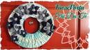 Tutorial: Ghirlanda FuoriPorta Primavera | Riciclo Creativo | DIY Spring Wreath