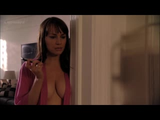Julie ann emery - damages (2011) s4e2 nude? sexy, open robe, big cleavage! watch online