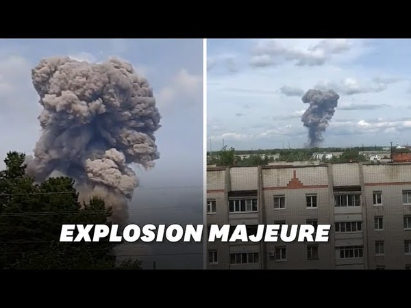 Russie: des dizaines de blessés à Dzerzhinsk après une déflagration dans une usine d'explosifs