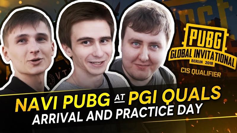 NAVI PUBG at PGI Quals: Arrival and Practice day