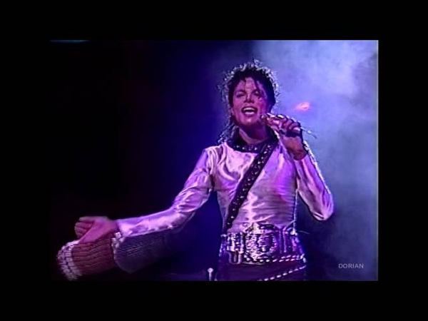 Michael Jackson - Human Nature live Bad Tour in Yokohama 1987 - Enhanced - High Definition