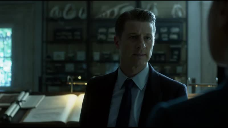 GOTHAM• SEASON 4x4• Bruce finds out Dr. Winthrop is dead