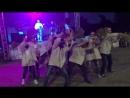 Танец наших аниматоров и волонтеров на фестивале в семейном курорте УТЁС Иди в баню