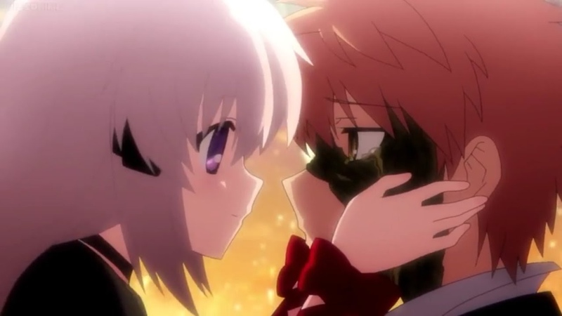 Kotarou and Kagari Kiss twice Rewrite S2