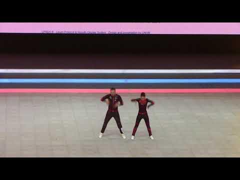 KONDRASHIN Alexey KOZLOVA Darina Russian Final acro Main Class Free Style