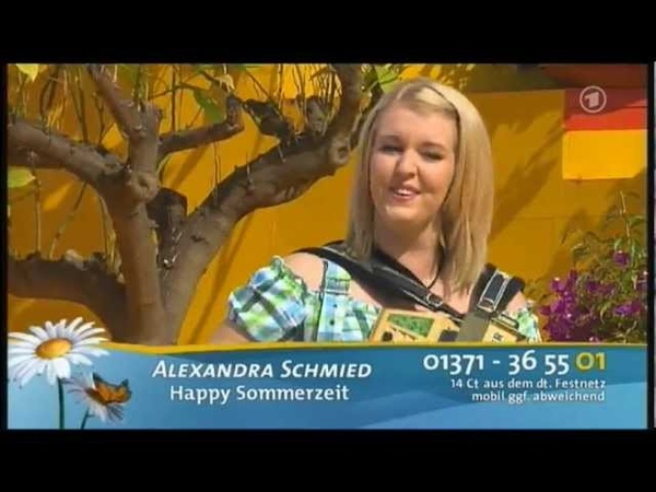 [HQ] - Alexandra Schmied - Happy Sommerzeit - 24.06.2012 - Immer wieder Sonntags