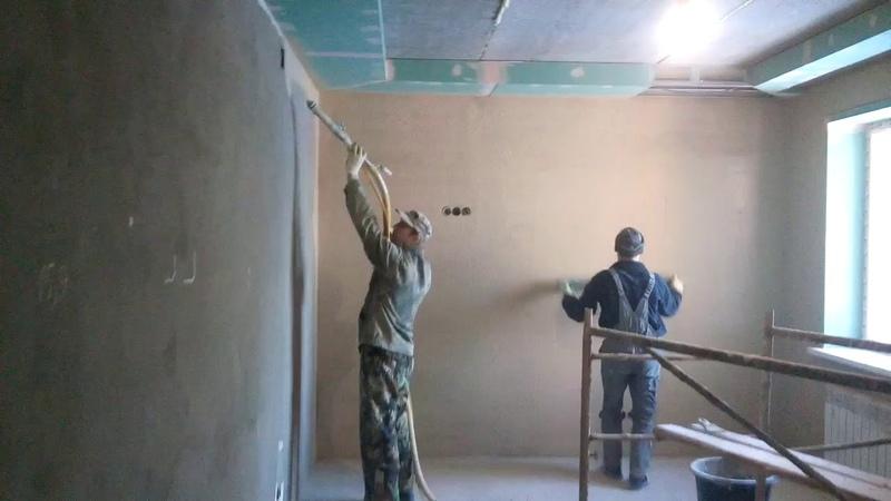 Шпаклевочные работы механизированным способом в г Киров