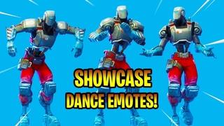 *NEW* A.I.M Skin Showcase With Dance Emotes! Fortnite Battle Royale