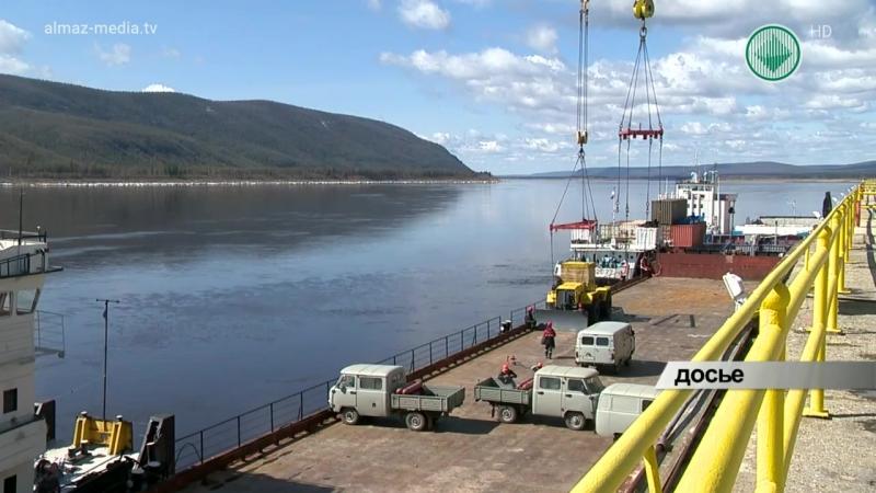 Алмаздортранс продолжает доставлять грузы на площадки АК АЛРОСА
