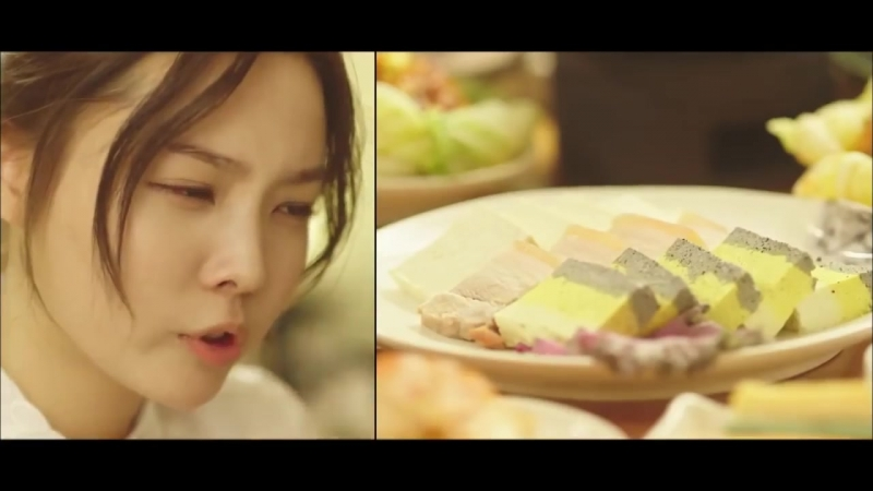 12 Lets Eat Lets Eat Ep6 Yoon Jini evaluates the food as if being haunted by Koo
