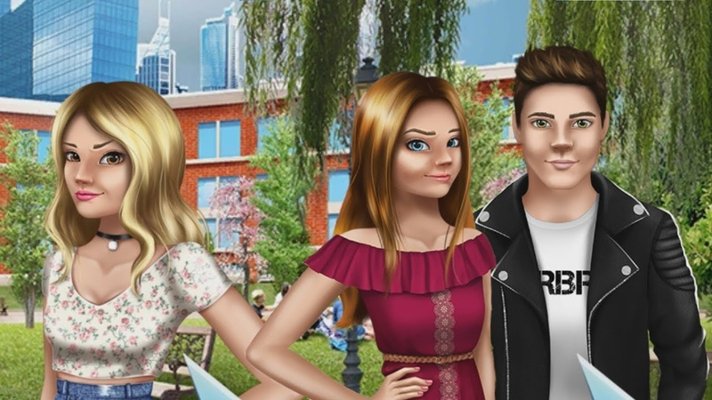 Любовные истории 11 Teen love story Пора в колледж! Новые друзья Игры для девочек ТОИ ЧОИ KIDS