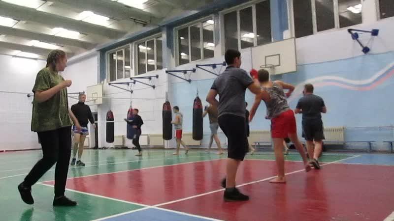 Тренировка на Металлургов 4а