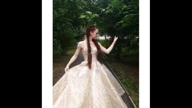 🔥Наша очаровательная выпускница Наталья из г. Вяземский😚😚😚   Свадебный салон Иль-Д-Амур @ il_d_amur