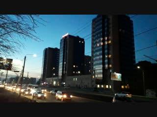 Вечерний Улан-Удэ, ул. Боевая.