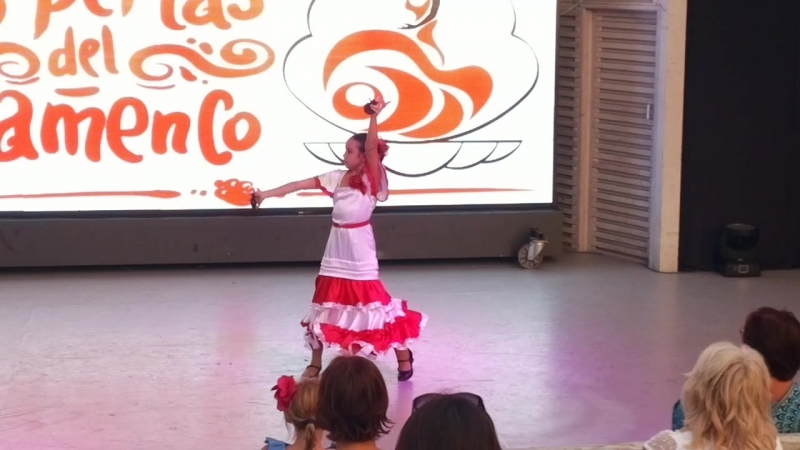 2018.08.18_ Школа фламенко Севастополь. Angel Rubia.