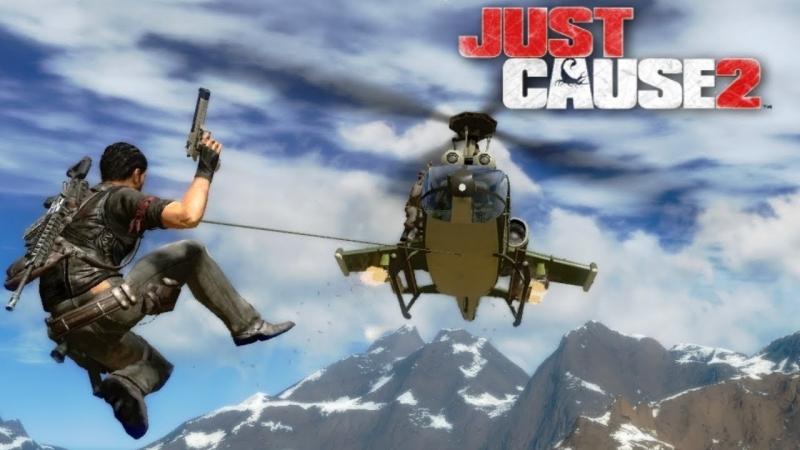 Just Cause 2 (стример - Тедан Даспар) ссылки на розыгрыш ключа от Saints Row The Third