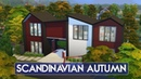 Sims 4 House Building Scandinavian Autumn Seasons Expansion Pack