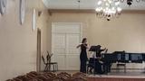 С.Прокофьев соната для флейты и фортепиано 1ч.