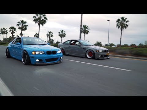Battle of the E46 M3's| Manuel and Diego [4K]