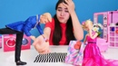 Barbie ve Ken ile oyun videosu Baloya hazırlık yapıyoruz