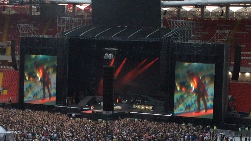 Guns n roses - Theme from Godfather (13.07.2018, Moscow)