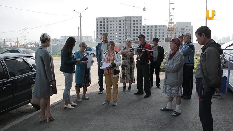 Новости UTV. Сделают ли проезд к дому по пр.Октября 48