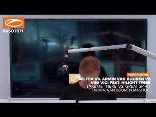 Militia - Take Me There vs. Armin van Buuren vs Vini Vici feat. Hilight Tribe - Great Spirit (Armin van Buuren Mashup)