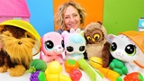 Nicoles Spielzeug Kindergarten - Wir lernen Obst und Gem
