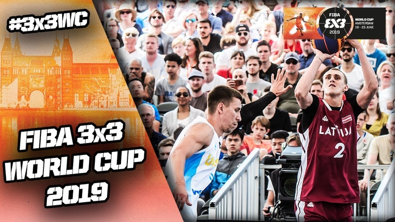 Ukraine v Latvia | Men's Full Quarter-Final | FIBA 3x3 World Cup 2019