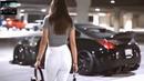Девушка на крутой машине 2019
