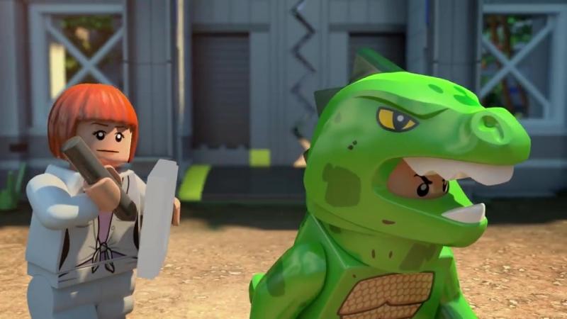 Part 3- LEGO® Jurassic World- The Indominus Escape